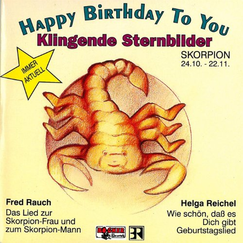 Klingende Sternbilder - Skorpion 24.10.-22.11.