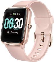 UMIDIGI Smartwatch Fitness Tracker Horloge Uwatch3, 5ATM Waterdichte Smart Watch met Hartslagmeter, Stappenteller, Slaapmo...