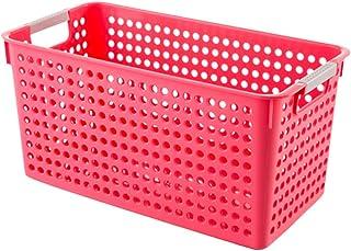 YARNOW Panier de Rangement Carré en Plastique Bacs de Rangement Empilables Paniers Organisateur de Tiroir Boîte de Rangeme...