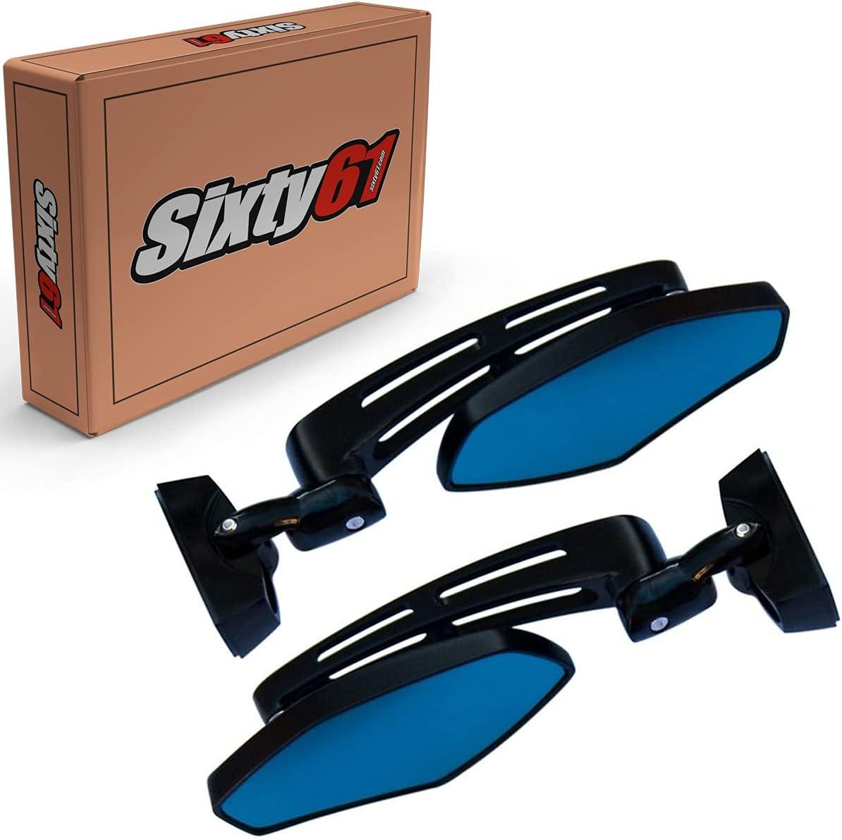 Sixty61 Black Mirrors for Suzuki GSXR 1000 2001-2021, Aircraft-G