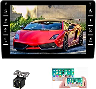 """Sponsored Ad - UNITOPSCI Android Car Stereo Double Din Car Radio with GPS Bluetooth 8"""" HD Touch Screen Car Multimedia Play... photo"""