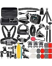 Neewer 52-in-1 accessoireset voor GoPro Hero4 Session Hero1 2 3 3+ 4 SJ4000 5000 6000 7000 in zwemmen, roeien, skiën, klimmen, kamperen, duiken en andere outdoorsporten