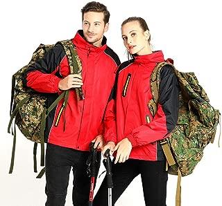 Waterproof Jacket for Men and Women, Outdoor Reflective Warm Hiking Jacket