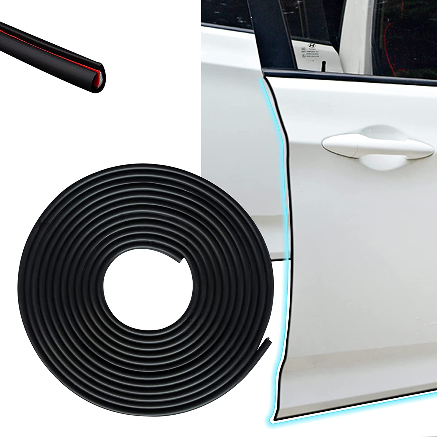 Cotree Clearance SALE! Limited time! Car Door Edge 16Ft Anti-C (5M) Fashion Guards