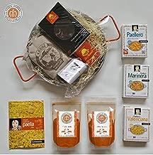 Premium Instant Paella Set Kit - Includes Paella Pan, Rice, La Chinata Smoked Paprika, Dried Nora Peppers, Paella Stock and MORE!