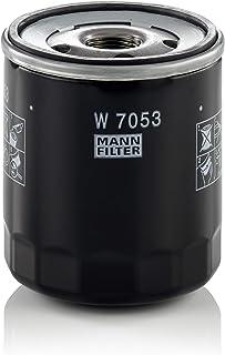 MANN-FILTER W 7053 Original Filtro de Aceite, Para automóviles y vehículos de utilidad