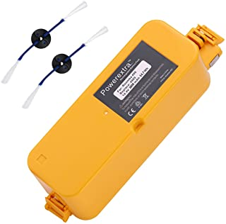 Powerextra 14.4V 3800mAh Ni-MH Replacement Battery Compatible with Roomba 400 Series Roomba 400 405 410 415 416 418 4000 4...