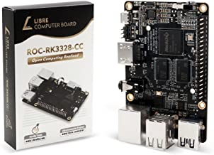 Libre Computer Board ROC-RK3328-CC (Renegade) Mini Computer with Gigabit Ethernet and USB 3.0 (1GB)