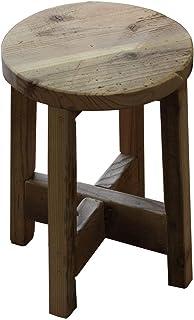OLD ASHIBA 丸椅子 高さ420mm 無塗装