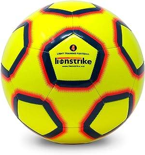 Lionstrike Balón de Fútbol Size 4 Lite - Balón de fútbol de Entrenamiento Ligero para niños/niñas de 7 a 13 años
