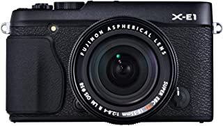 Fujifilm X-E1 16.3MP Compact System Digital Camera with 2.8-Inch LCD- Kit with 18-55mm Lens (Silver) (Renewed)