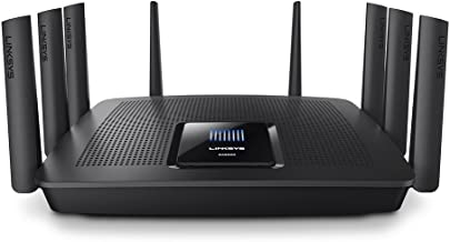 Linksys Tri-Band Wifi Router for Home (Max-Stream AC5400 MU-Mimo Fast Wireless Router)