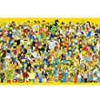 Wapipey Anime Simpson Holz Puzzle Erwachsene Dekom