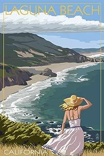 Laguna Beach, California - Coast Scene (12x18 Fine Art Print, Home Wall Decor Artwork Poster)