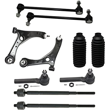 Stirling Three Years Warranty Front Left Lower Suspension Control Arm and Ball Joint Assembly For 2008 Chrysler Town /& Country Touring 3.8 Liter V6