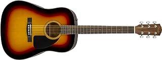 Fender CD-60 Dreadnaught Acoustic Guitar (V3) - With Case - Sunburst - Walnut Fingerboard