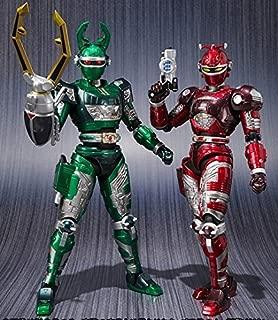 Bandai Juukou B-Fighter SHFiguarts Gee stag u0026 Reddoru Set