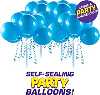 Bunch O Balloons Self-Sealing Latex Party Balloons (32 X Blue 11In Balloons) (Custom Pack)