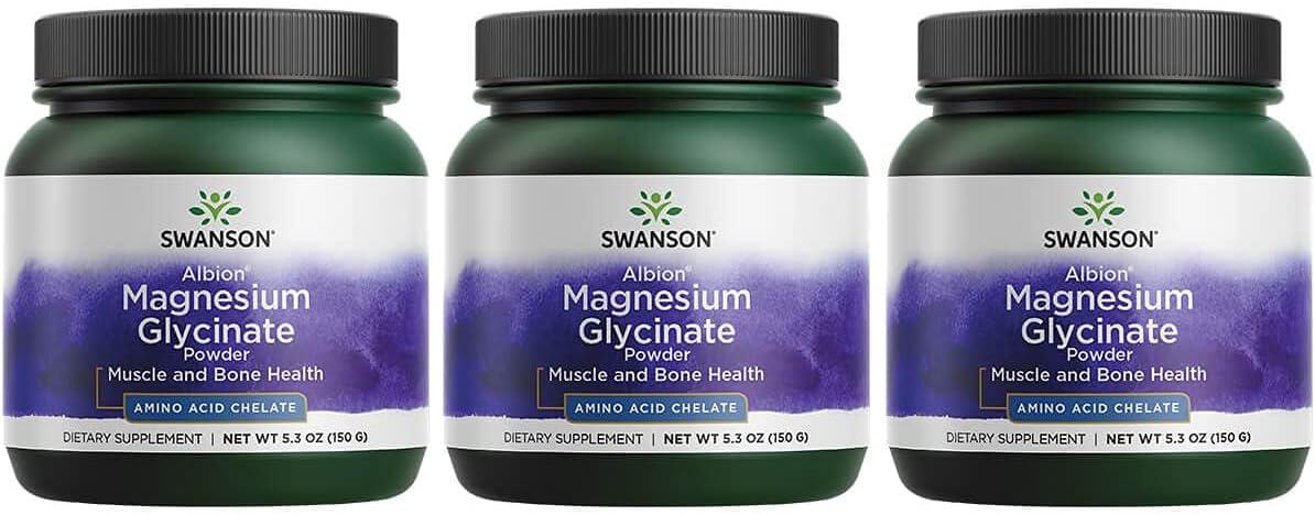 Swanson Albion Chelated 休日 Magnesium Glycinate g Pw 150 5.3 新品 送料無料 Ounce