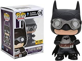 Steampunk Batman (Hot Topic Exclusive): DC Universe x Funko POP! Heroes Vinyl Figure & 1 POP! Compatible PET Plastic Graphical Protector Bundle [#120 / 10147 - B]