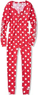 Victoria's Secret PINK Onesie Pajama Bling Polka Dot Small
