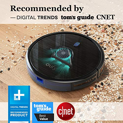 eufy by Anker, BoostIQ RoboVac 11S (Slim), Robot Vacuum Cleaner, Super-Thin, 1300Pa Strong Suction, Quiet, Self-Charging Robotic Vacuum Cleaner, Cleans Hard Floors to Medium-Pile Carpets