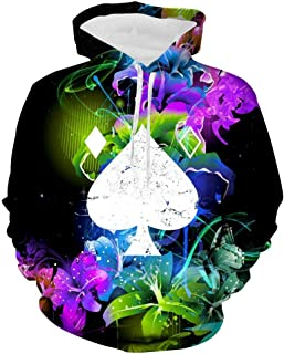 3D Destiny 2 Ace of Spades Women's Sweatshirt Fleece Casual Jacket Hooded Hoodies with Pocket Lady Adult