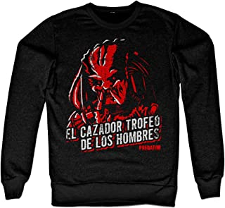Officially Licensed Predator - De Los Hombres Sweatshirt (Black)
