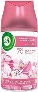 Air Wick Desodorisant Maison Recharge Diffuseur Freshmatic Orchidée Sauvage et Soie 250 ml