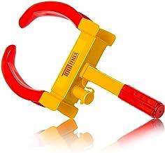 Goplus Heavy Duty Trailer Lock Wheel Clamp, Adjustable Anti-Theft Tire Lock 5.3-lb Boot..