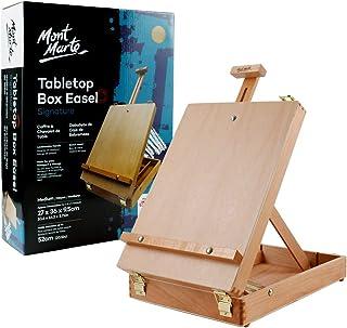 Mont Marte Desk Easel - Medium Tabletop Box Style Beech Wood