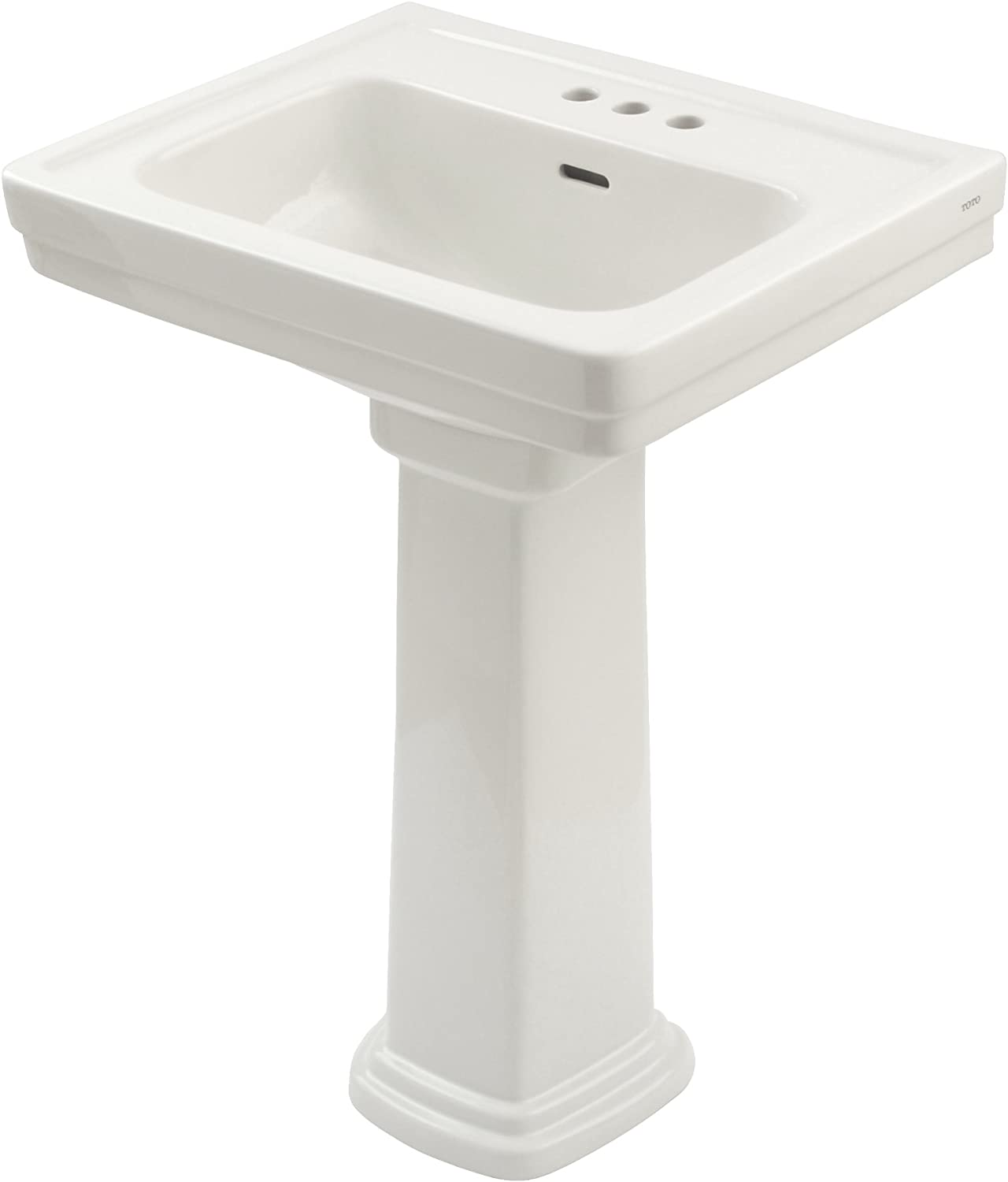 TOTO LPT532.4N#01 Promenade Lavatory and with Ce Houston Mall Pedestal 4-Inch Spring new work