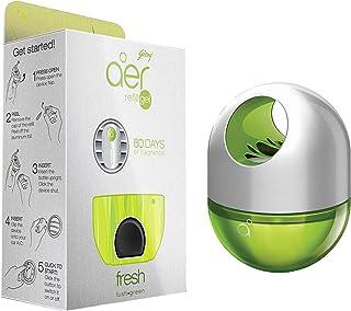 Godrej aer click, Car Air Freshener Refill Pack - Fresh Lush Green (10g) & Godrej aer twist, Car Air Freshener - Fresh Lus...