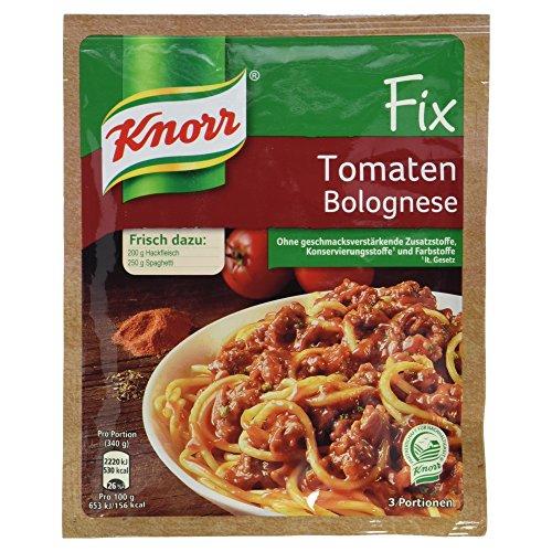 Knorr Fix Tomaten Bolognese 3 Portionen, 47 g