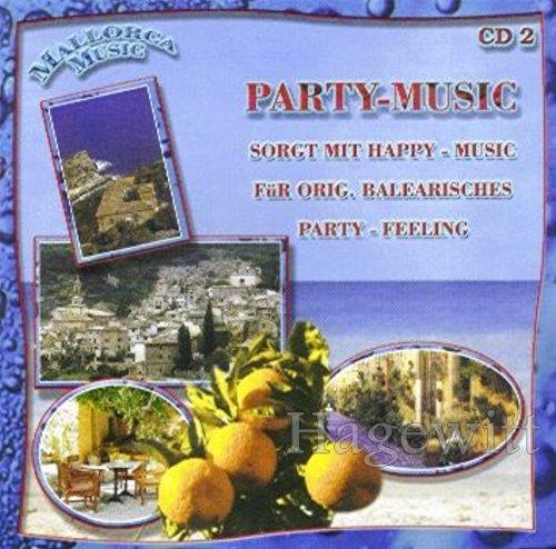 Mallorca Music - Party-Music (CD 2 Feat. Orig. Südtiroler Spitzbuam, Patty Ryan, Partygeier a.m.m.)                                                                                                                                                                                                                                                                Compilatie