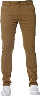 Kruze New Mens Stretch Skinny Fit Chinos Branded Trousers Pants All Waist