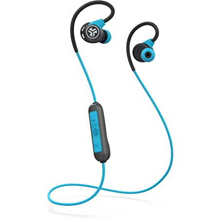 Amazon Com Jlab Audio Fit Sport 3 Wireless Fitness Gym Earbuds Bluetooth 4 2 6 Hour Battery Life Flexible Memory Wire Ip55 Dust Sweat Proof Rating Noise Isolation Universal Track Controls Blue Electronics