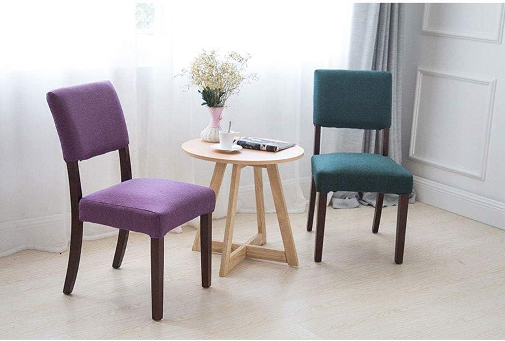 SLL- Salle à Manger Chaise en Bois Massif Hôtel Restaurant Chaise Chaise Café Café Tabouret Simple Moderne Moderne (Color : H) G