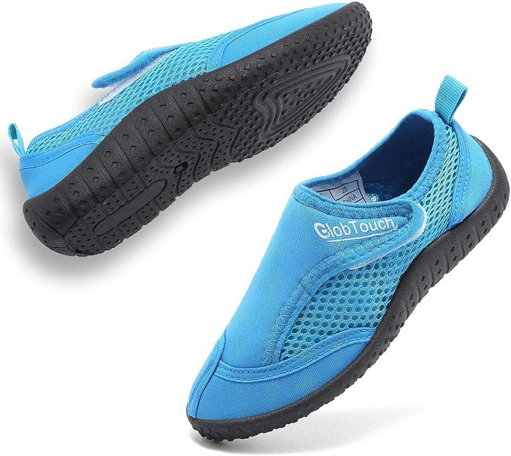 Finally popular brand GLOBTOUCH Boys Girls Water [Alternative dealer] Shoes Running Snea Toddler Breathable