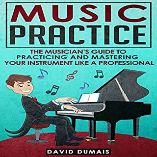 Music Practice audiobook cover art