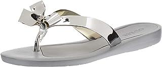 GUESS Tutu9 Women's Shoes, Silver (Silver/Multicolor SIMSY), 38.5 EU
