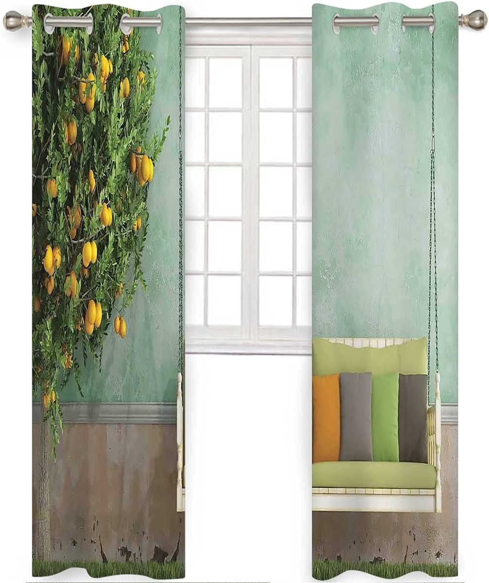 Heat Blocking Curtains 108 Selling rankings Sale item Inch Long Garden Swing Wooden in Kid