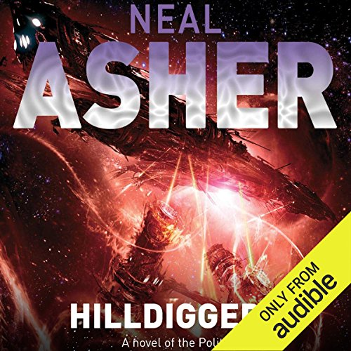 Hilldiggers audiobook cover art