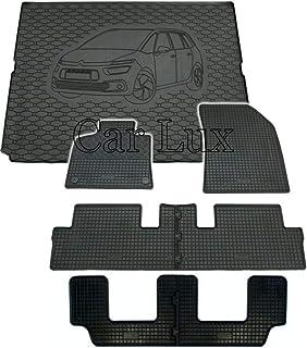 Car Lux DUO05957 Tapis de coffre en caoutchouc sur mesure pour Captur II /à partir de 2020