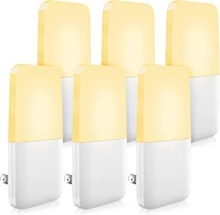 MAZ-TEK Plug in Night Light, Warm White LED Nightlights with Smart Dusk to Dawn Sensor for Kids, Nursery, Ideal for Bedroo...