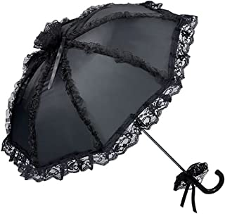 VON LILIENFELD Sombrilla Nupcial Boda Mujer Accesorio Malisa Negro