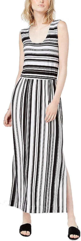 Bar III Striped Maxi Dress