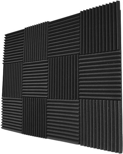 """lowest Foamily 12 discount Pack- Acoustic Panels Studio Foam Wedges 1"""" X 12"""" sale X 12"""" sale"""