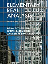 Best elementary real analysis thomson Reviews