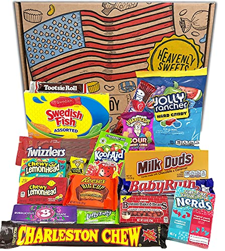 American Sweets Gift Box | Candy and Chocolate Hamper Selection | Classic...